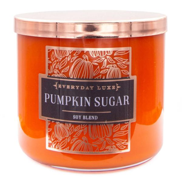 Colonial Candle - Mittlere Duftkerze im Glas - Everyday Luxe - Pumpkin Spice Orange