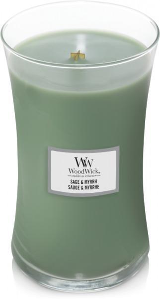 WoodWick - Large Hourglass Duftkerze - Sage & Myrrh