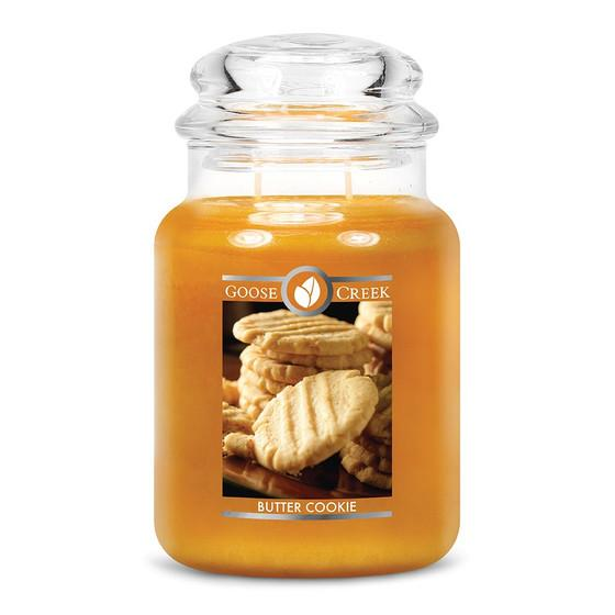 Goose Creek Candle - Classic Jar Duftkerze im Glas - Butter Cookie