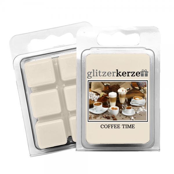 glitzerkerze - Duftwachs Coffee Time