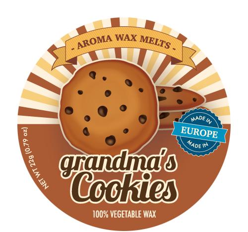 *Aroma Wax Melts - Duftwachs - Grandma's Cookies