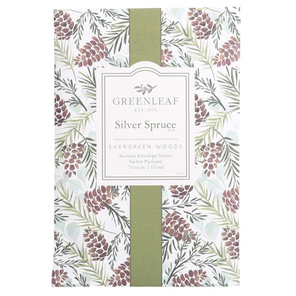 Greenleaf - Duftsachet Large - Silver Spruce Δ