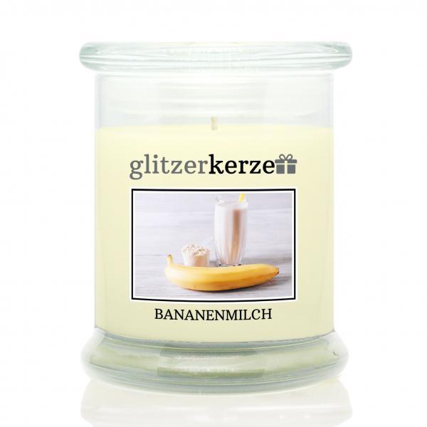 glitzerkerze - Duftkerze - Bananenmilch