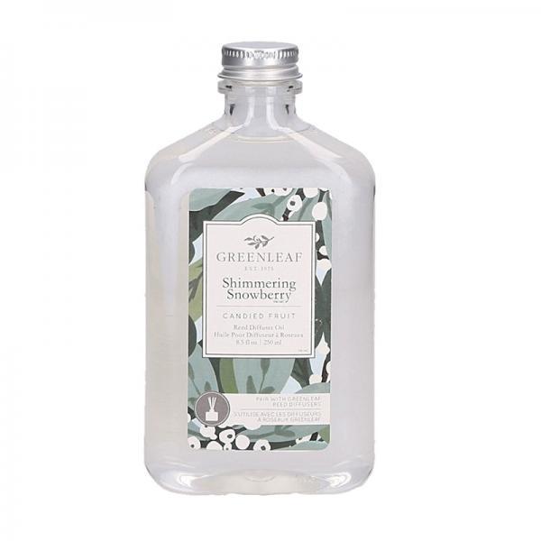Greenleaf - Reed Diffuser Oil - Reedöl - Shimmering Snowberry Δ