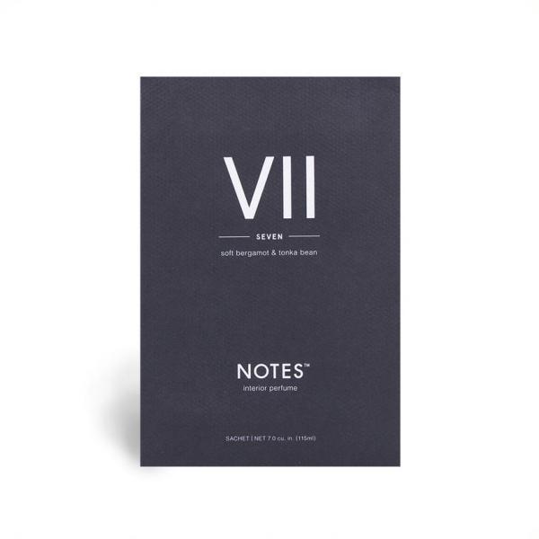 NOTES - Duftsachet - VII - Seven - Soft Bergamot & Tonka Bean