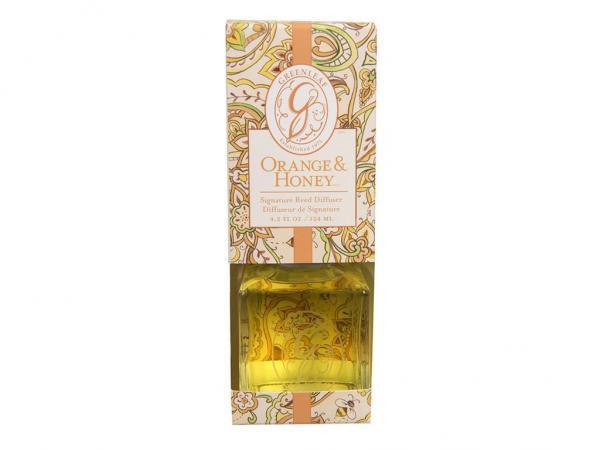 Greenleaf - Signature Reed Diffuser - Orange & Honey