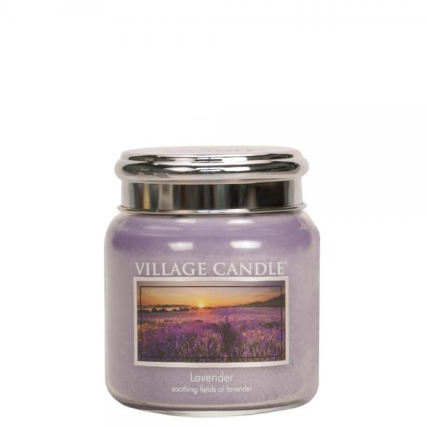 Village Candle - Medium Glass Jar - Lavender º*