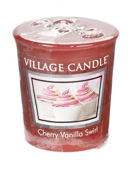 Village Candle - Votivkerze - Cherry Vanilla Swirl