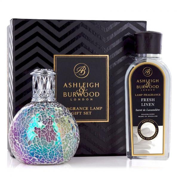 χ Ashleigh & Burwood - Geschenkset - Duftlampe Fairy Ball & 250ml Fresh Linen