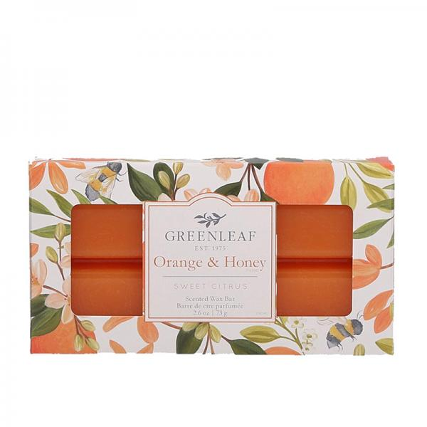 Greenleaf - Duftwachs / Wax Bar - Orange & Honey