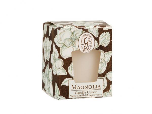 Greenleaf - Candle Cube Votivkerze - Duftkerze - Magnolia