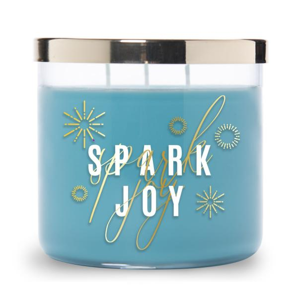 Colonial Candle - Mittlere Duftkerze im Glas - Inspire Collection - Spark Joy