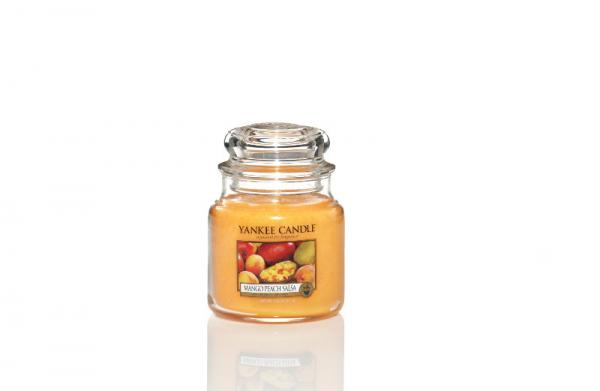 Yankee Candle - Classic Medium Jar Housewarmer - Mango Peach Salsa