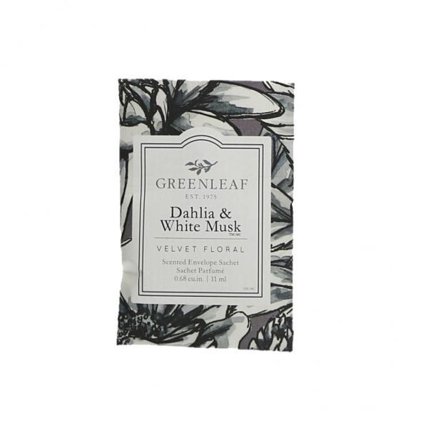 Greenleaf - Duftsachet Small - Dahlia & White Musk