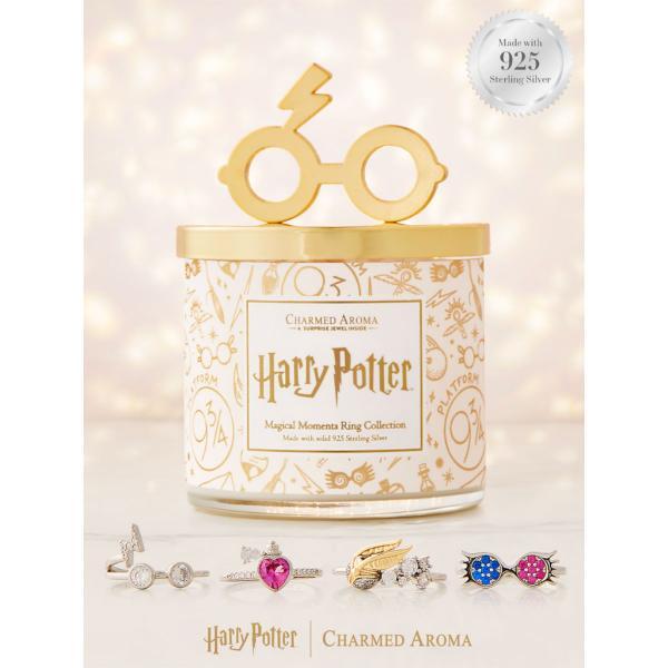 Charmed Aroma - Duftkerze mit Schmuck - Harry Potter Magical Moments Kerze (Ring)