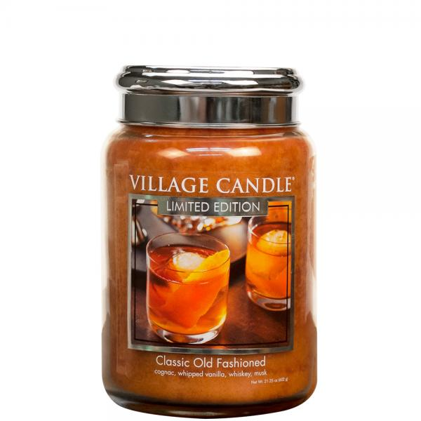 Village Candle - Large Glass Jar - Classic Old Fashioned (LE)