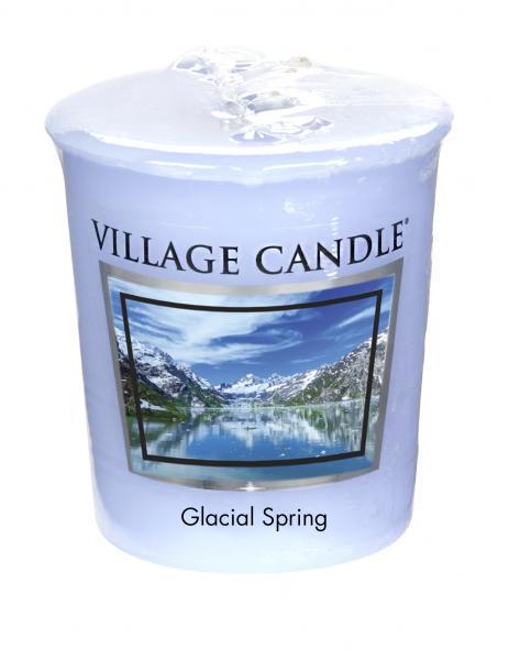Village Candle - Votivkerze - Glacial Spring º*