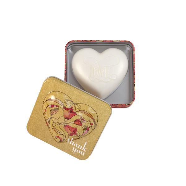 STC - Heart Shaped Tin Soap Thank You