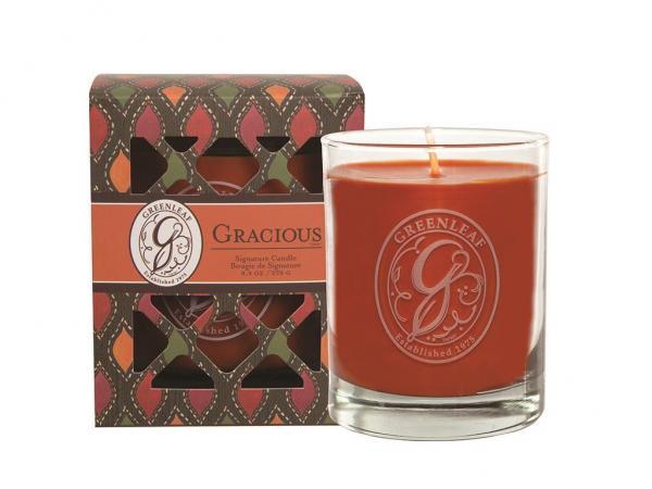 *Greenleaf - Duftkerze im Glas - Signature Candle - Gracious