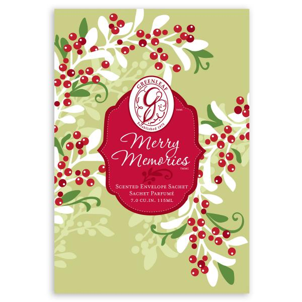 Greenleaf - Duftsachet Large - Merry Memories