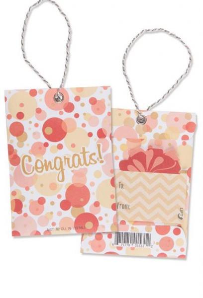 *Willowbrook - Scented Gift Tag - Duftsachet m. Hängeschlaufe - Congrats