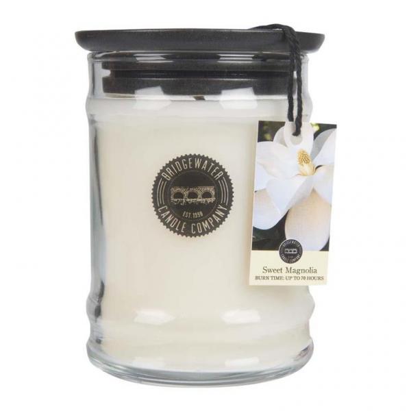 Bridgewater Candle - Kleine Duftkerze im Glas - Small Jar - Sweet Magnolia