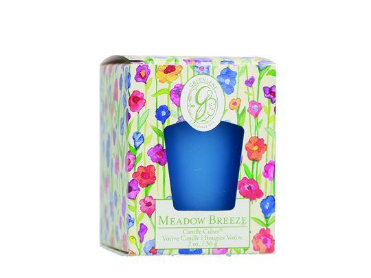 Greenleaf - Candle Cube Votivkerze - Duftkerze - Meadow Breeze