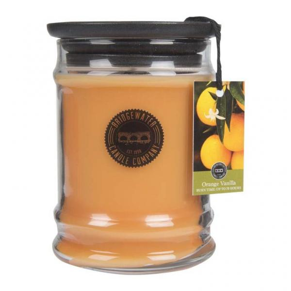 Bridgewater Candle - Kleine Duftkerze im Glas - Small Jar - Orange Vanilla