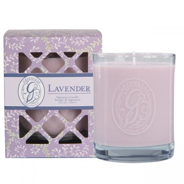 Greenleaf - Duftkerze im Glas - Signature Candle - Lavender