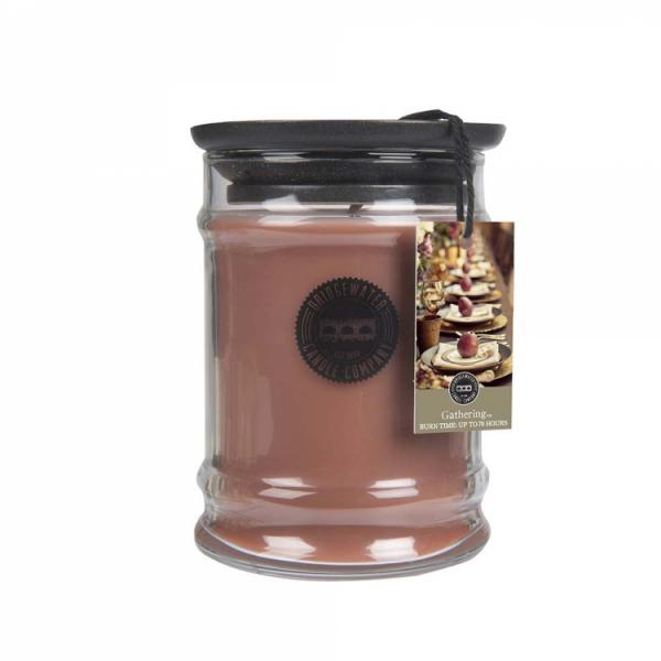 Bridgewater Candle - Kleine Duftkerze im Glas - Small Jar - Gathering