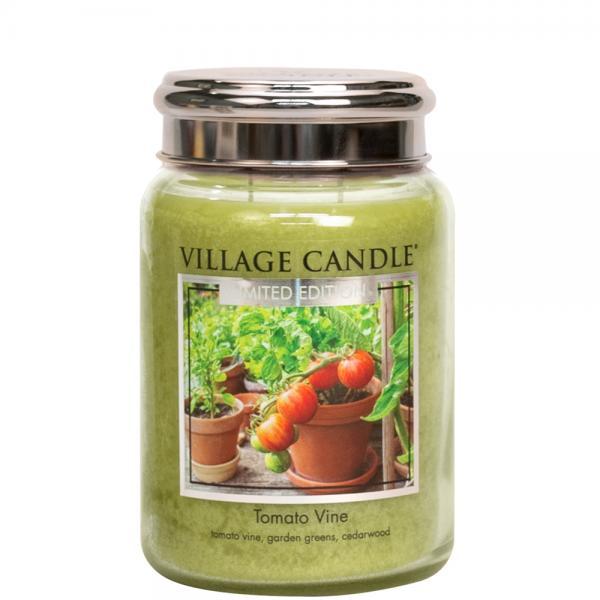 Village Candle - Large Glass Jar - Tomato Vine (LE)