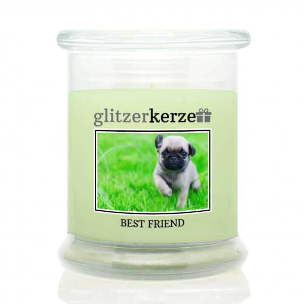 glitzerkerze - Duftkerze - Best Friend