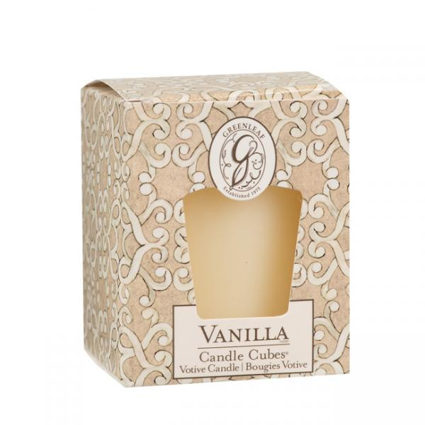 Greenleaf - Candle Cube Votivkerze - Duftkerze - Vanilla