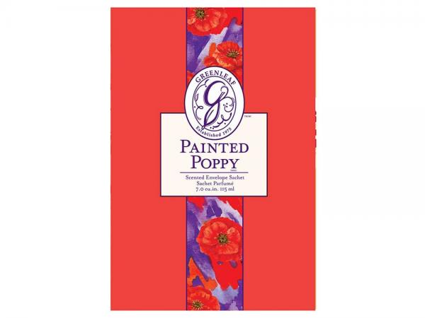 Greenleaf - Duftsachet Large - Painted Poppy