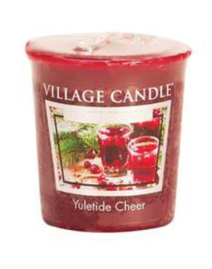 Village Candle - Votivkerze - Yuletide Cheer