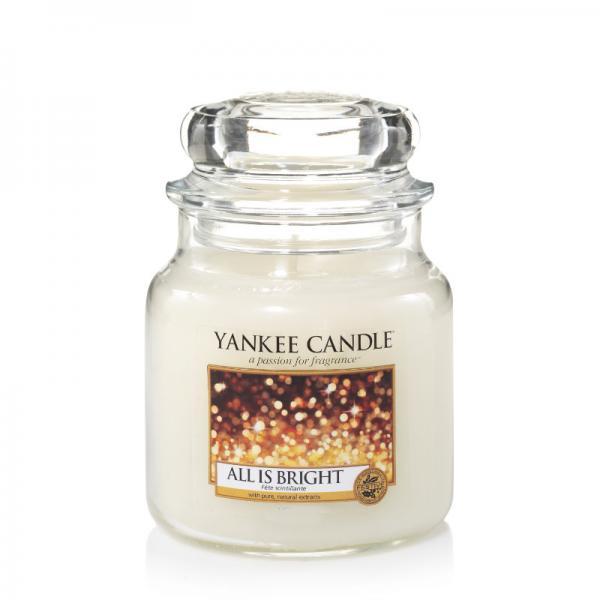 Yankee Candle - Classic Medium Jar Housewarmer - All is Bright Δ