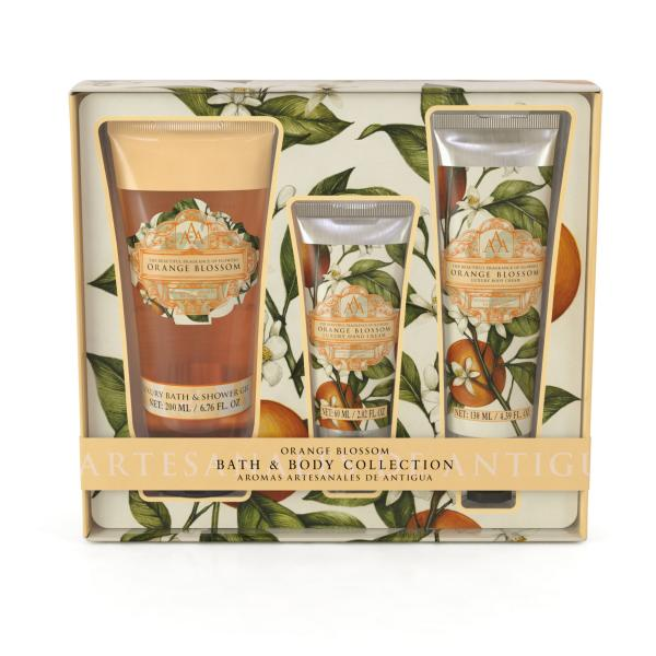 STC - Triple AAA Bath & Body Collection Orange Blossom
