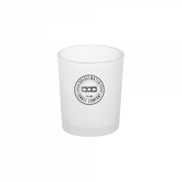 Bridgewater Candle - Votivkerzenhalter - Glas - Matt mit Logo