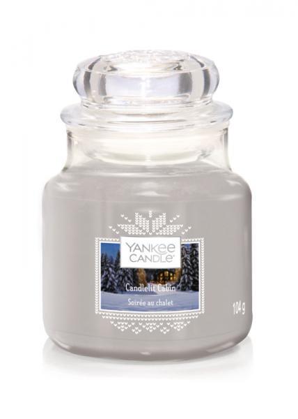 Yankee Candle - Classic Small Jar Housewarmer - Candlelit Cabin Δ