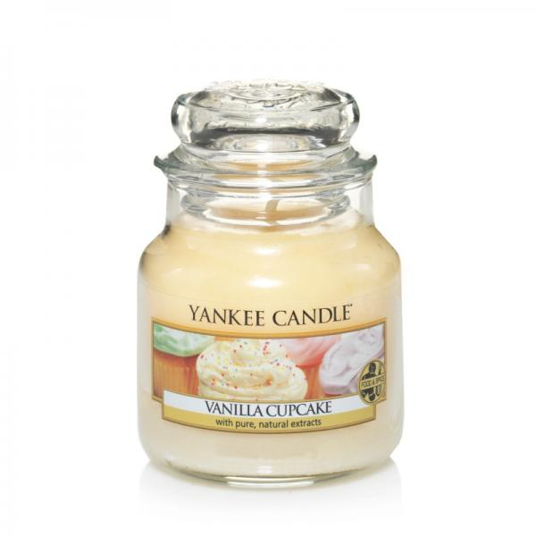 Yankee Candle - Classic Small Jar Housewarmer - Vanilla Cupcake