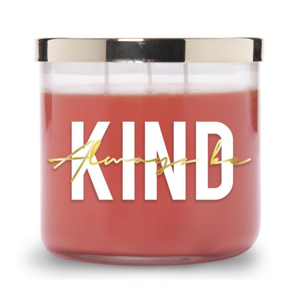 Colonial Candle - Mittlere Duftkerze im Glas - Inspire Collection - Always be Kind