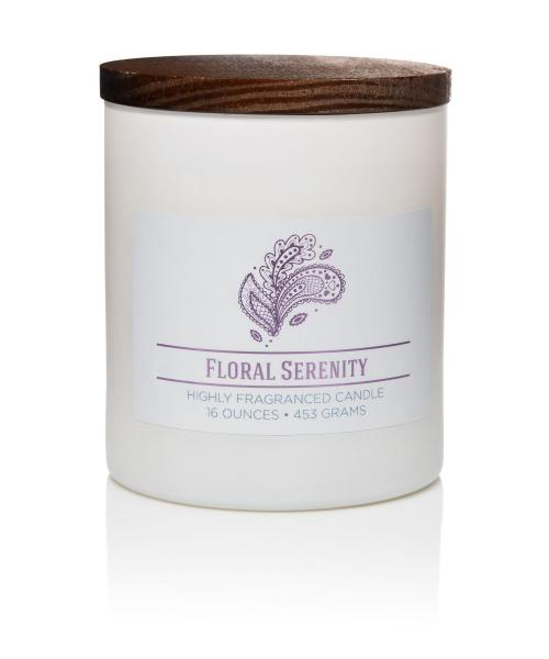 Colonial Candle - Mittlere Duftkerze im Glas - Wellness - Floral Serenity