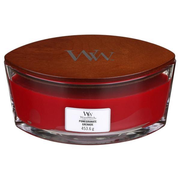 WoodWick - Hearthwick Ellipse Jar - Pomegranate