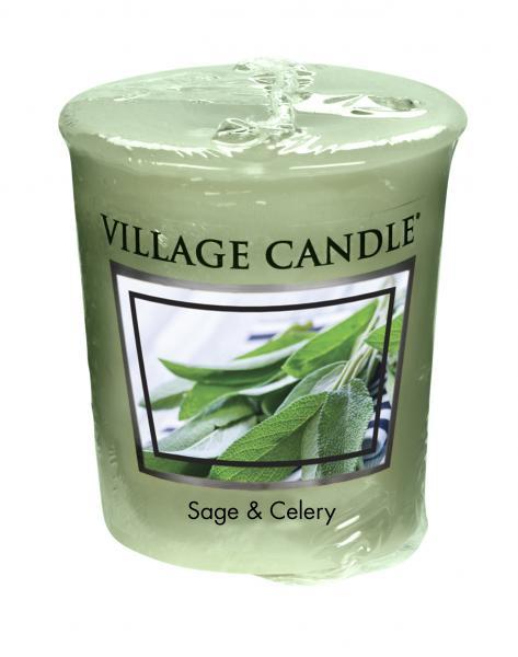 Village Candle - Votivkerze - Sage & Celery