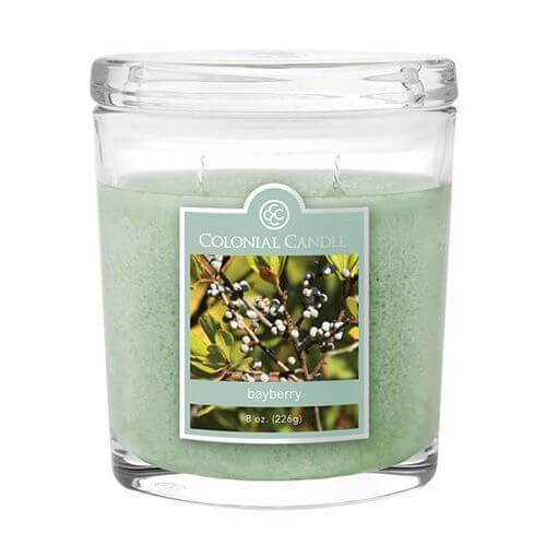 Colonial Candle - Kleine Duftkerze im Glas - Oval Collection - Bayberry