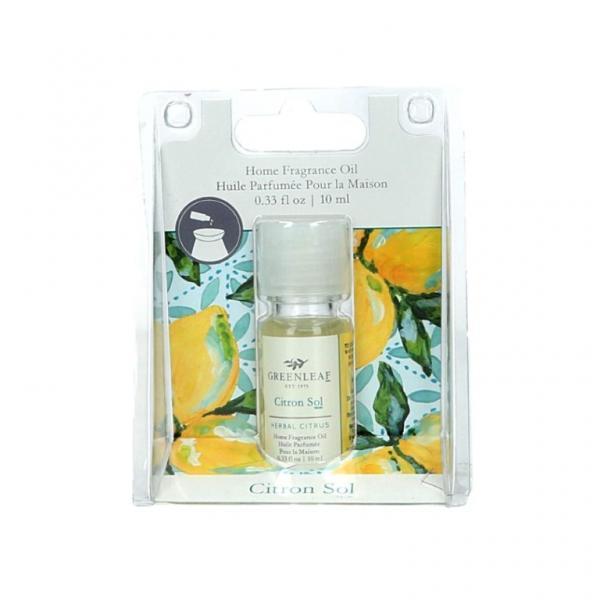 Greenleaf - Home Fragrance Oil - Duftöl - Citron Sol