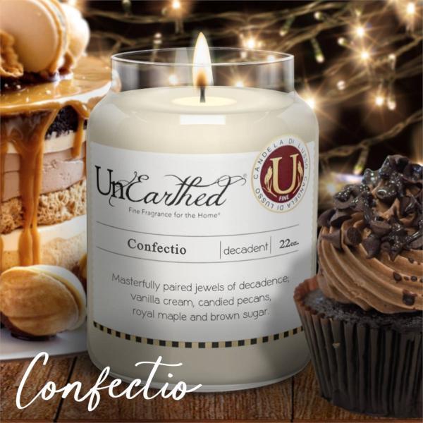 Candleberry - Duftkerze im Glas - Confectio