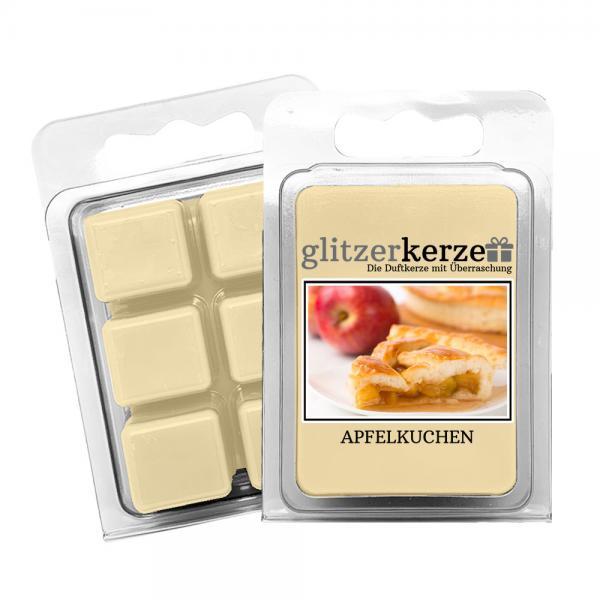 glitzerkerze - Duftwachs Apfelkuchen