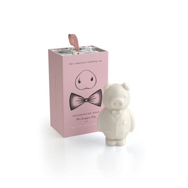 STC - Animal Shaped Soap The Dapper Pig