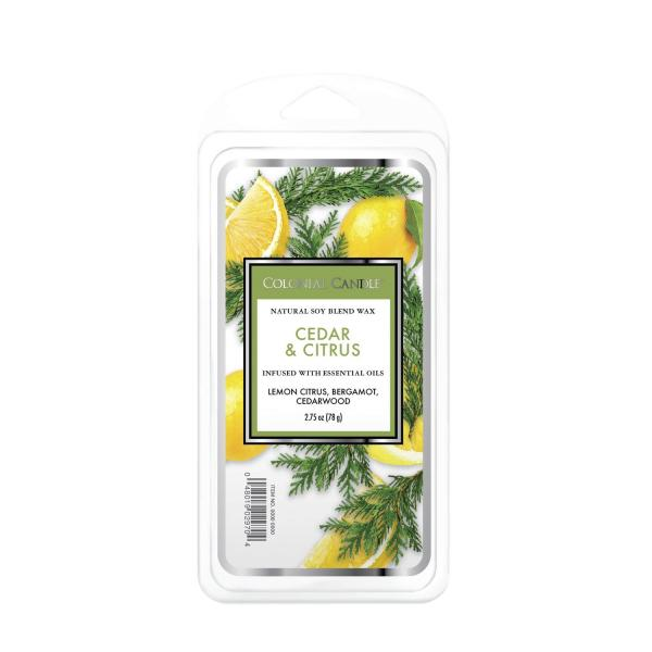 Colonial Candle - Duftwachs - Cedar & Citrus